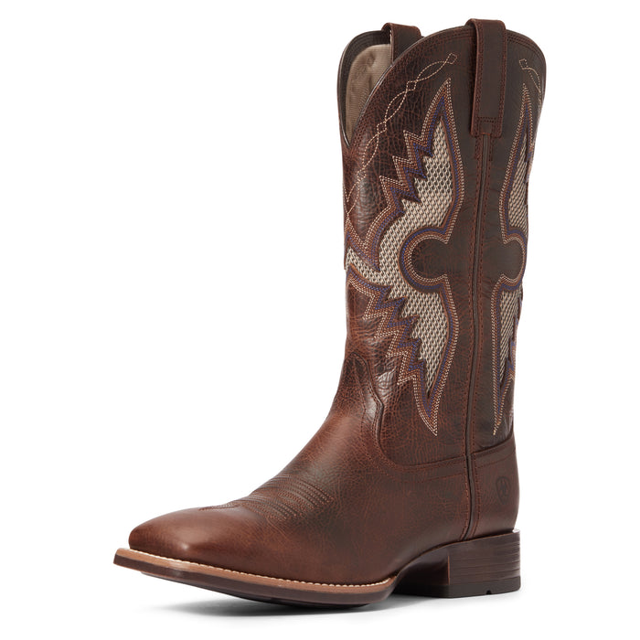 Ariat Mens Solado VentTEK Dark Whiskey Western Boot