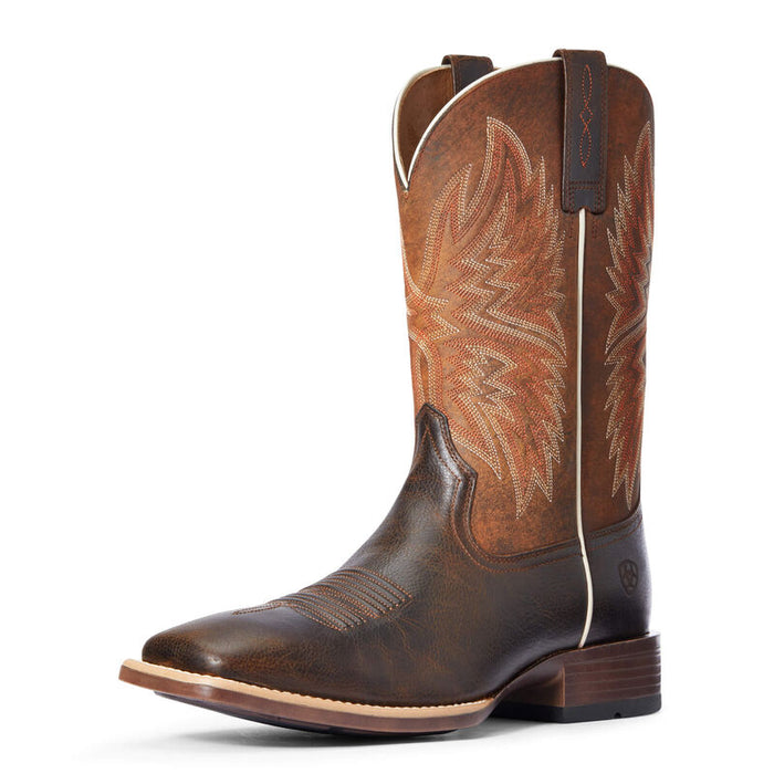 Ariat Valor Ultra Bantam Weight Western Boot, Badlands Brown
