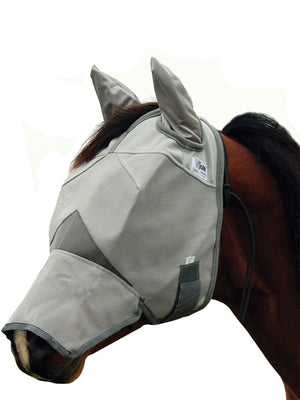 Cashel Crusader Fly Mask, LONG NOSE WITH EARS