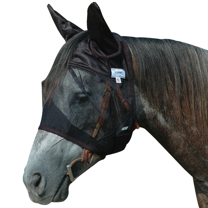 Cashel Quiet Ride Fly Mask, Standard WITH EARS