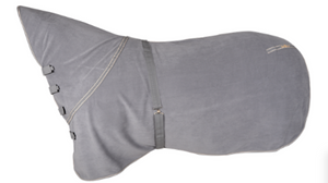 Classic Equine Econo Polar Fleece Cooler, Grey