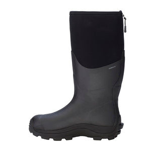 Dryshod Arctic Storm High-Cut Mens Winter Rubber Boots, Black