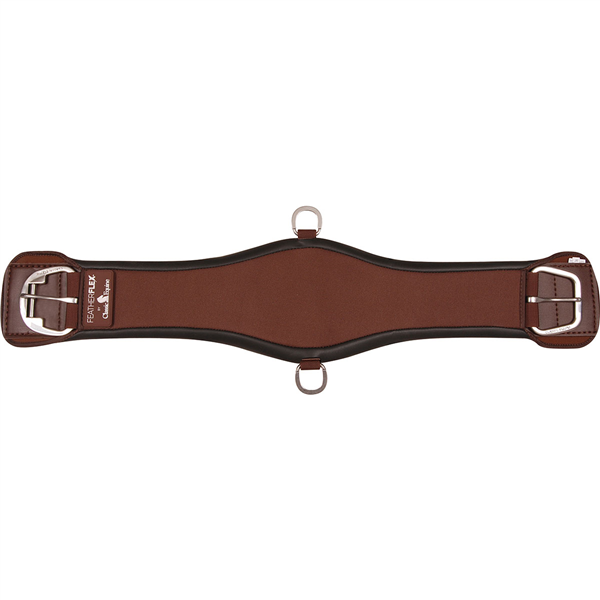 Classic Equine Featherflex Roper Cinch, Brown