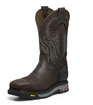 Justin Men's Warhawk Waterproof Comp Toe Work Boot