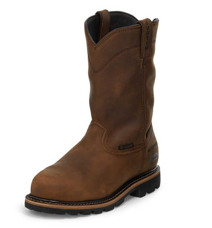 Men's Justin Pulley Work Boot