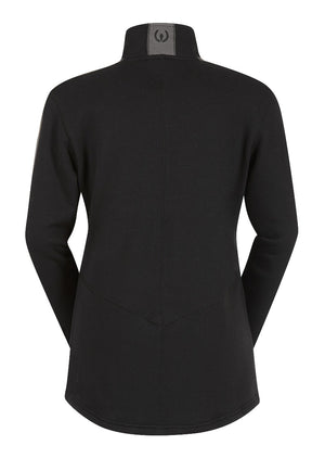 Kerrits Fair Centerline Fleece Zip Neck, Black (MEDIUM ONLY)