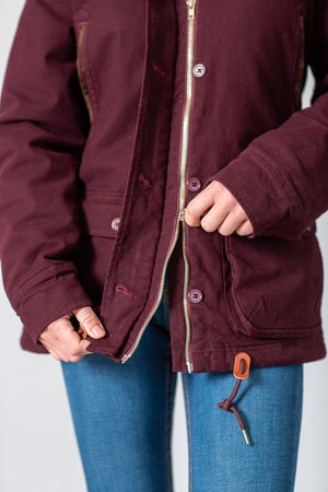 Kimes Ranch All Weather Anorak Winter Jacket, Cherry