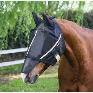 Noble Guardsman Fly Mask- With Ears