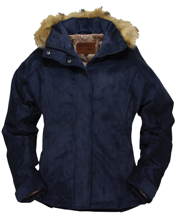 Outback Trading Navy Gold Cup Jacket (LARGE)