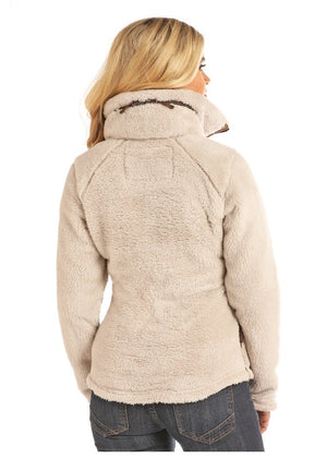 Powder River Jacket, Tan Plush