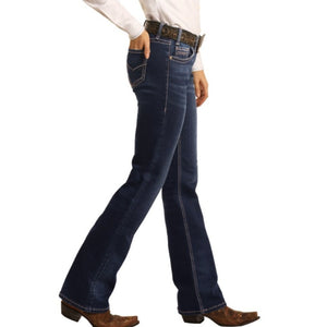 Rock & Roll Boyfriend Extra Stretch Boot Cut Riding Jeans