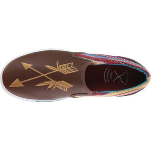 "Twisted X ""Be Brave"" Serape Casual Shoe"