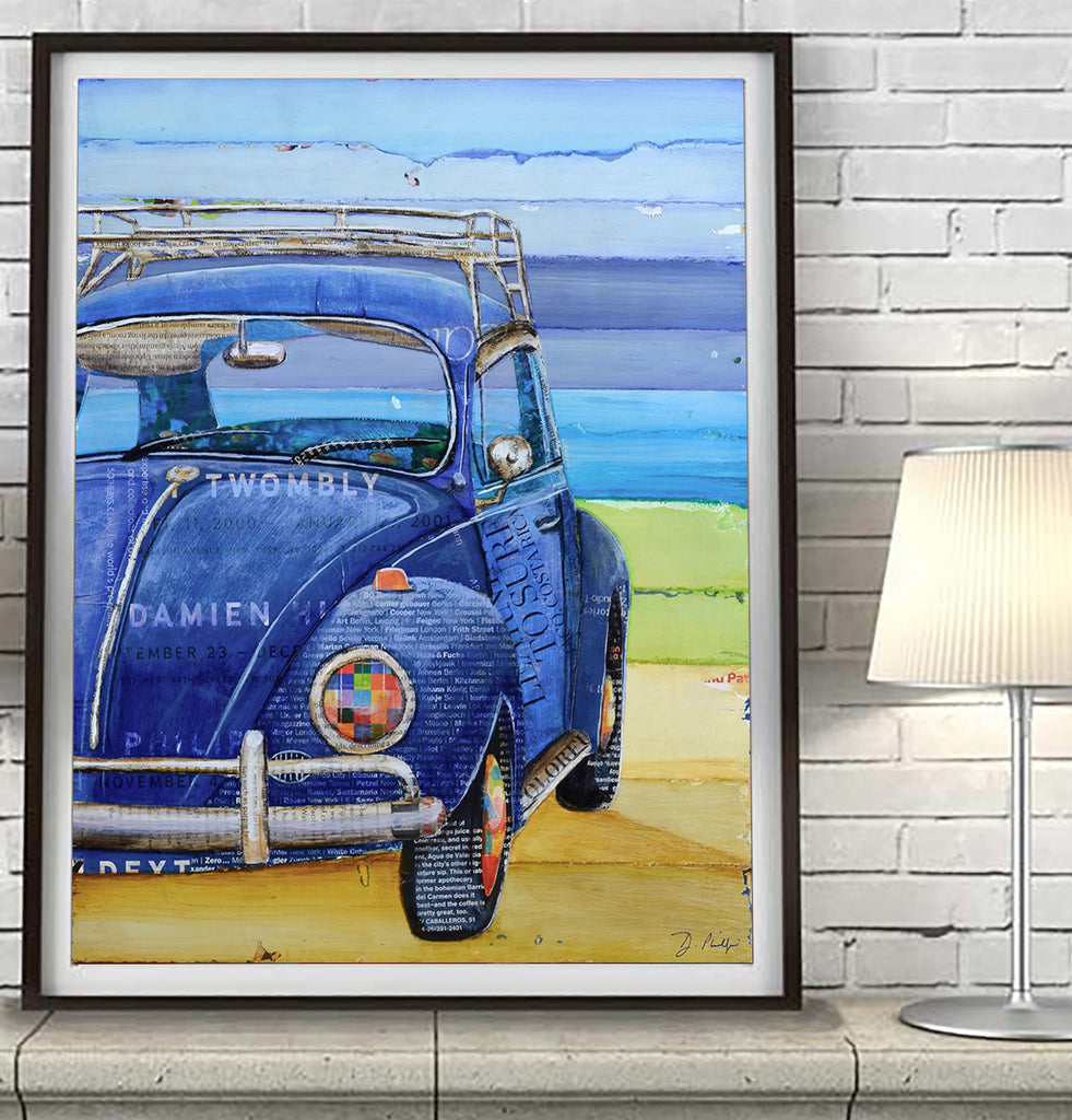I got the Blues - Danny Phillips Fine Art Print, All Sizes
