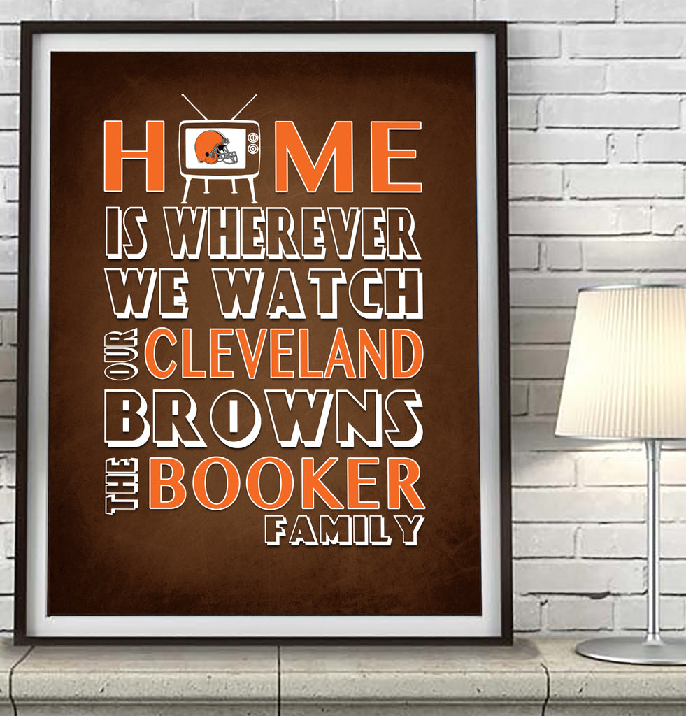Cleveland Browns Personalized
