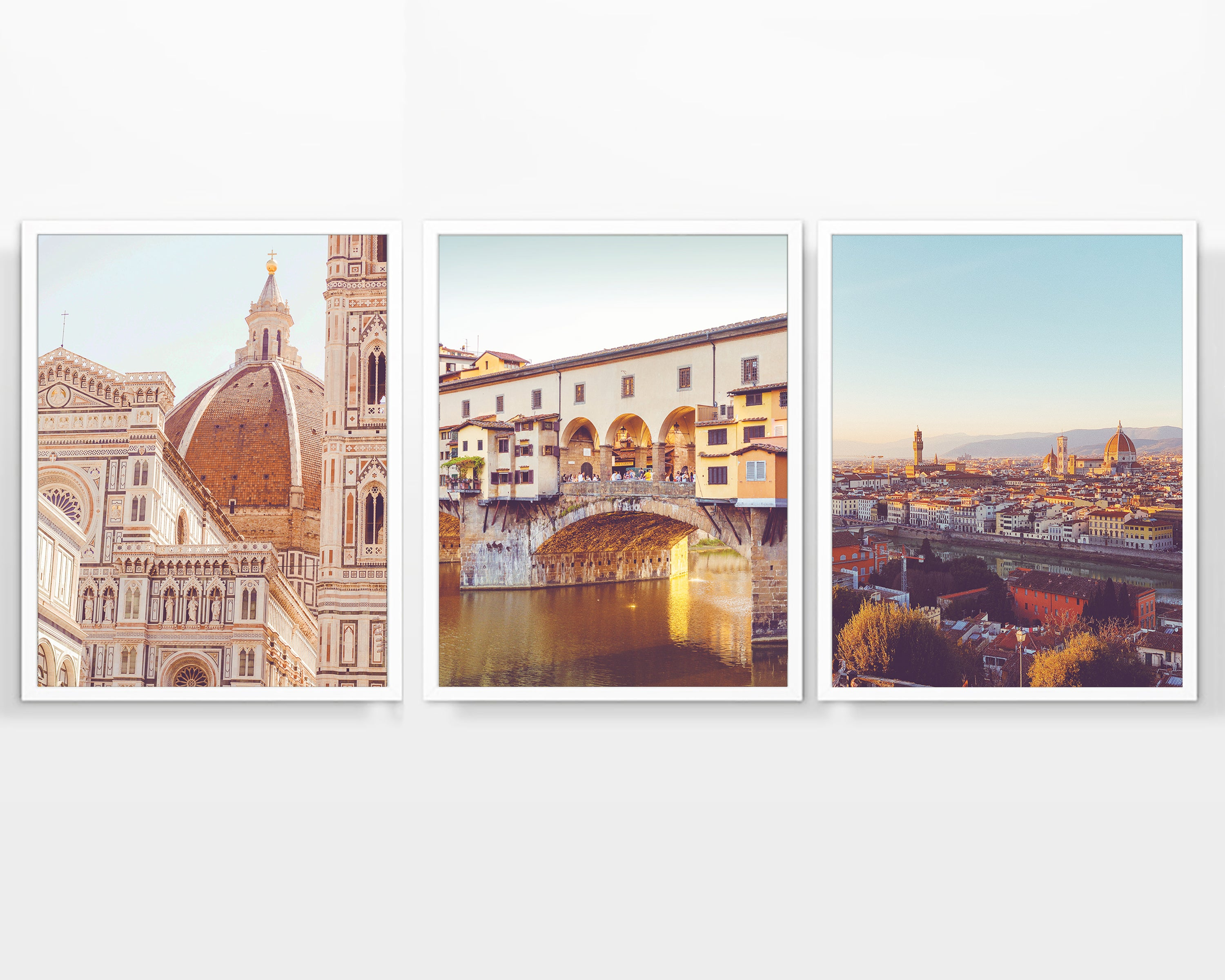 C Old Alley In Florence Art Print Home Decor Wall Art Poster