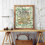 Let us Be Grateful to People who Make us Happy- Marcel Proust - Vintage Dictionary Page Art Print