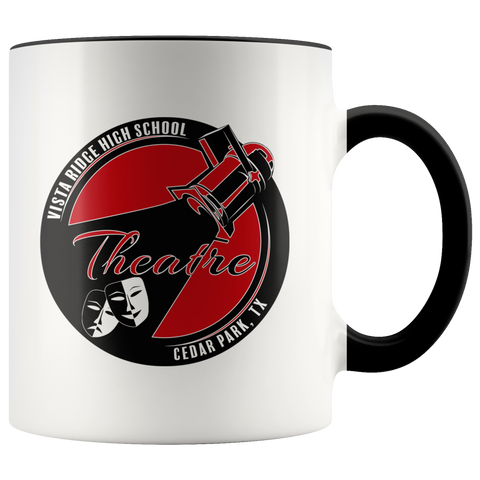 Vista Ridge High School Theatre Main Logo Mug