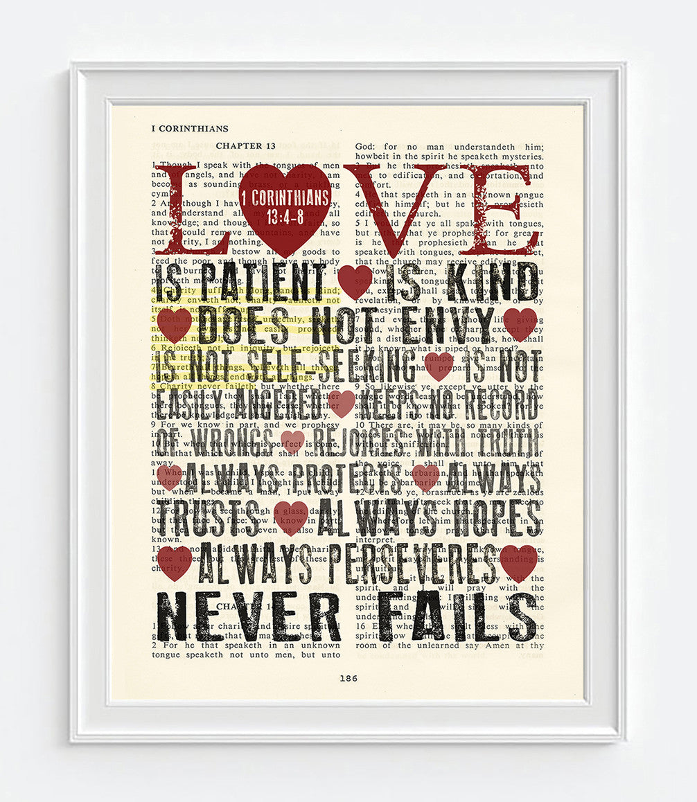 love is patient love is kind No other description of love has surpassed the simple—yet powerful—words that the apostle paul put on paper nearly 2,000 years ago why because real love truly is patient and kind.