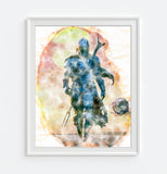 The Mandalorian - Star Wars Art Print Poster Gift