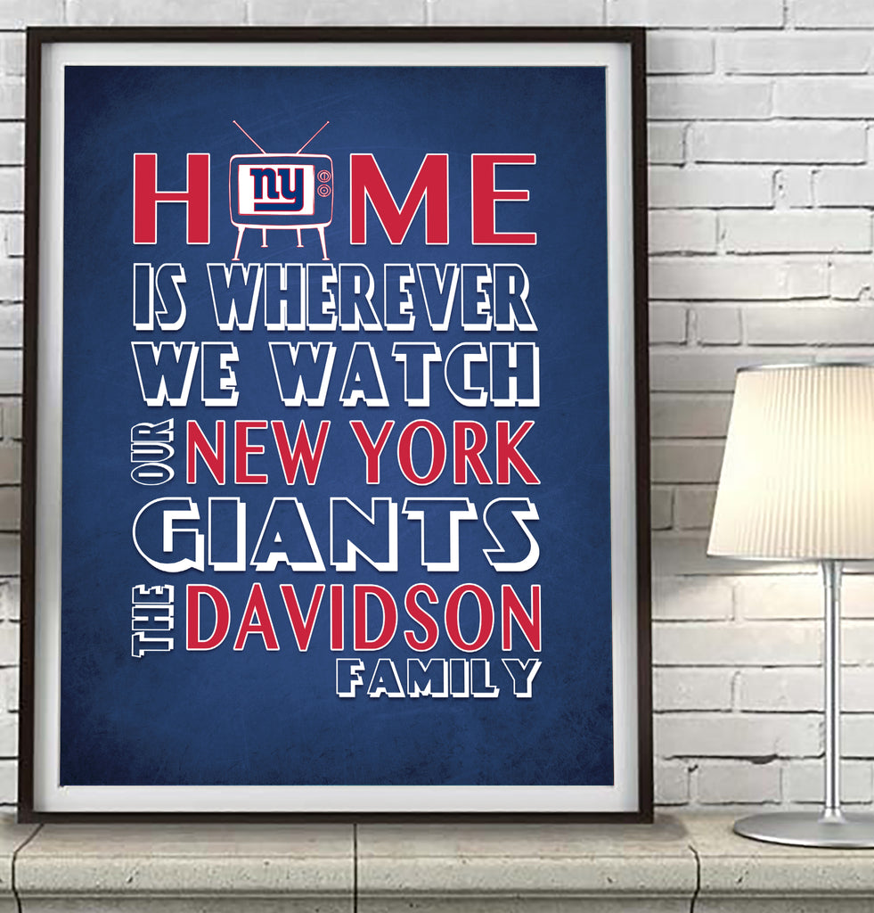differently 23eb7 4b021 New York Giants Personalized