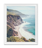 Vintage Pacific Coast Highway California Coast Photography Prints, Set of 3, Wall Decor