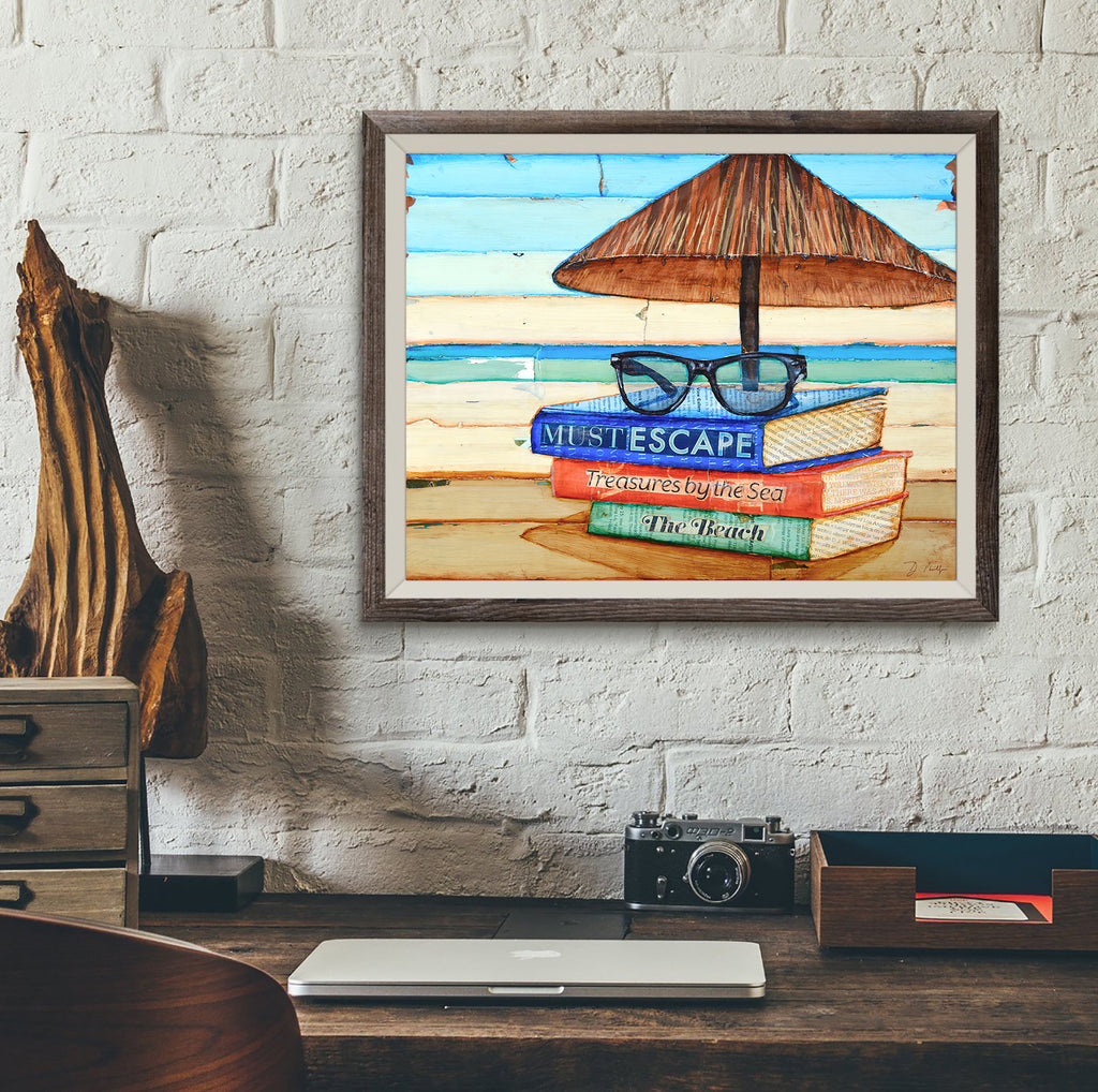 Reading Glasses- Danny Phillips Art Print