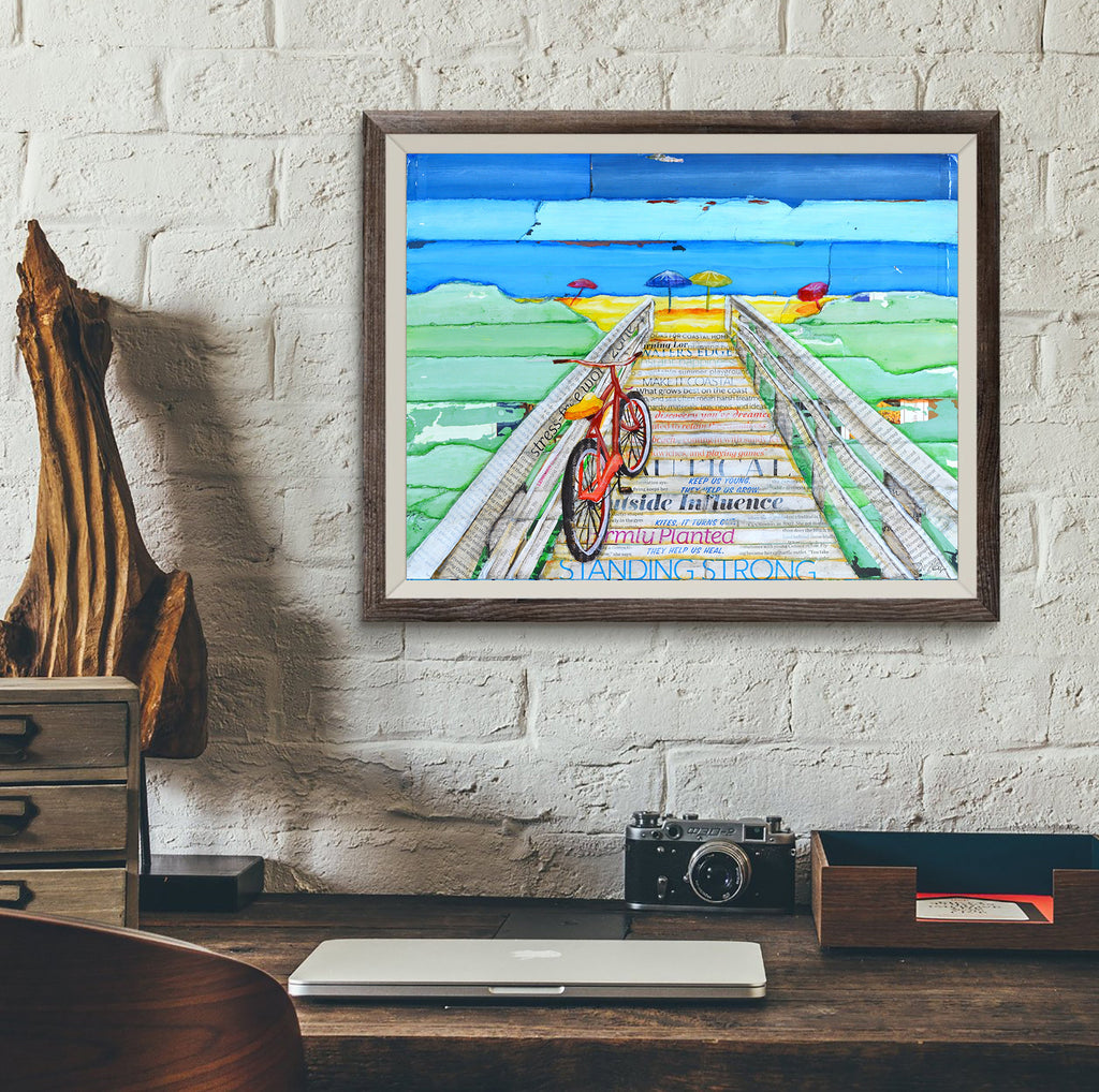 Ride 2 Tide- Danny Phillips Art Print
