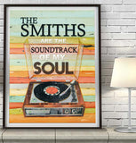 The Smiths are the Soundtrack of My Soul - Mixed Media Collage -Danny Phillips Fine Art Print