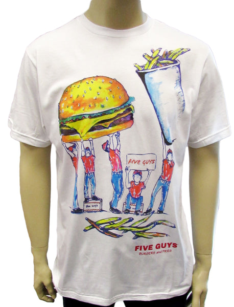 Five Guys Fan T-Shirt