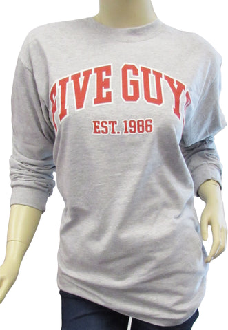 FG Collegiate Long Sleeve Unisex T-shirt
