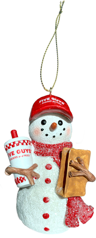 Holiday Snowman Ornament