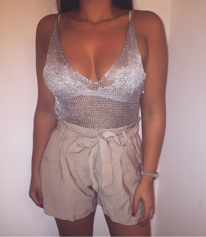 MYA Metallic Crop