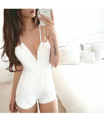 Alexa Cross Playsuit