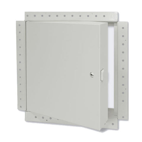 "Acudor FW-5050-DW Concealed Flange Drywall Insulated Fire Rated Access Door 8"" x 8"" Prime Coated Steel"
