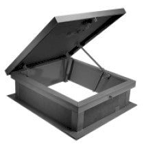 "Galvanized Roof Hatch 30"" x 54"""