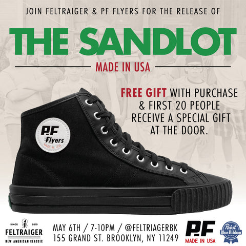 PF Flyers Made In USA Sandlot Release Party