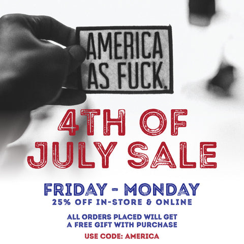 4th Of July Blow Out Sale