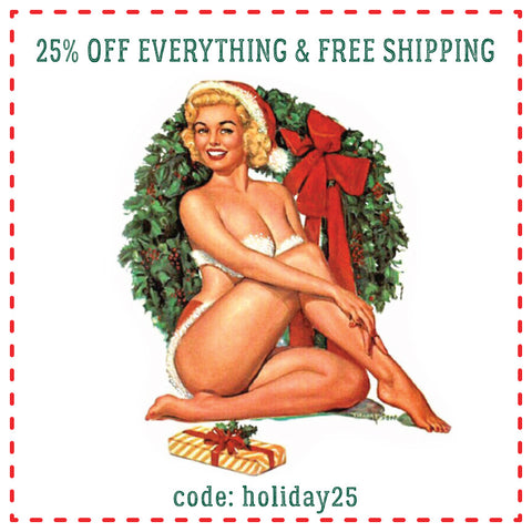 Holiday Sale: 25% Off & Free Shipping