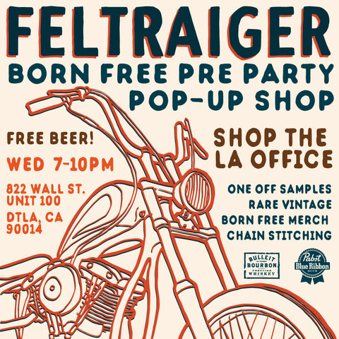 Born Free Pre Party & Pop-Up Shop