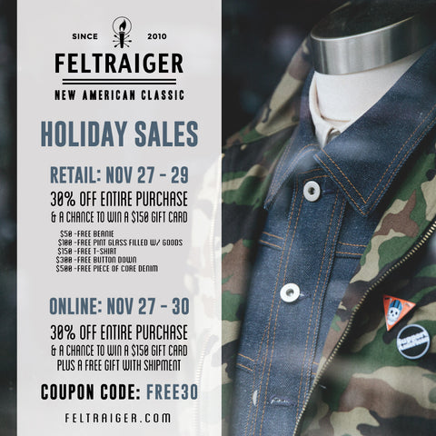 Feltraiger Black Friday Sale Flyer