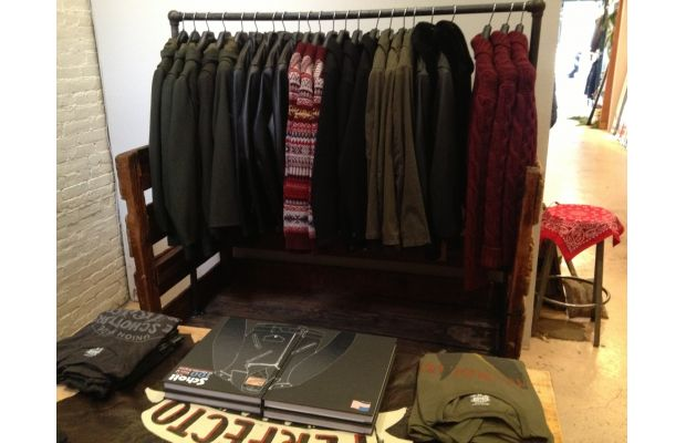 American-Made Apparel at Feltraiger Store