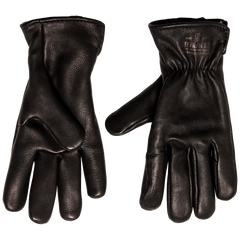 Deerskin Lined Glove - Black