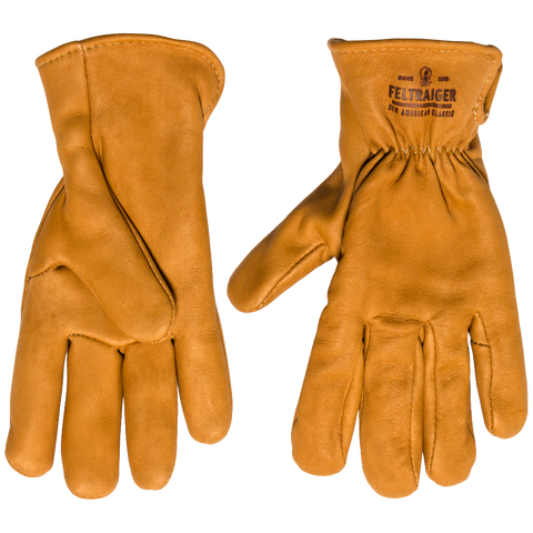 Deerskin Lined Glove - Tan