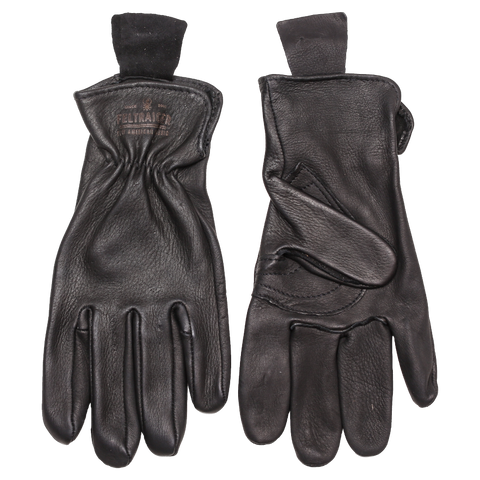 Deerskin Unlined Glove - Black