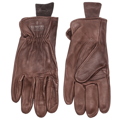 Deerskin Unlined Glove - Brown