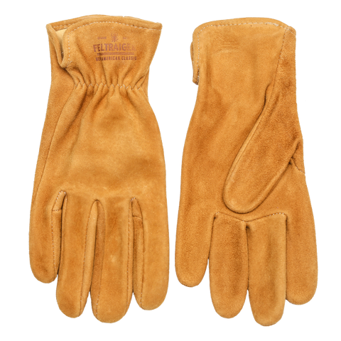 Deerskin Unlined Glove - Suede