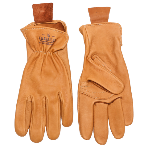 Deerskin Unlined Glove - Tan