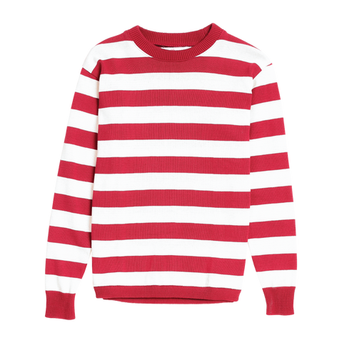 Up North Sweater  - Red
