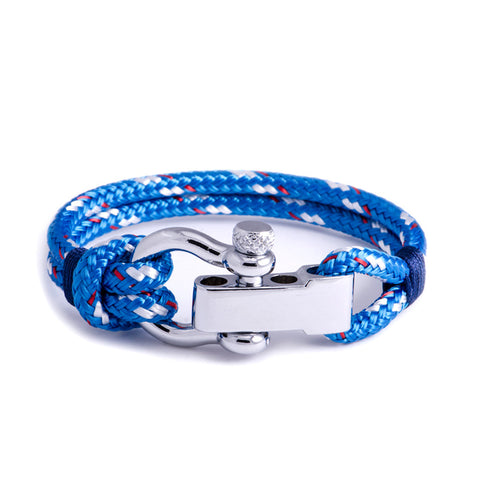 Regatta - Blue Shackle Bracelet