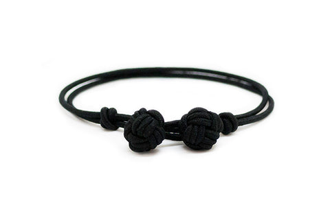 Fender - Black Monkey Fist Bracelet